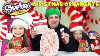 Giant Surprise Food Egg - Shopkins Christmas Ornaments Exclusive Baubels