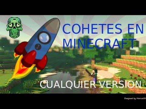 tutorial 32-como hacer cohetes en minecraft