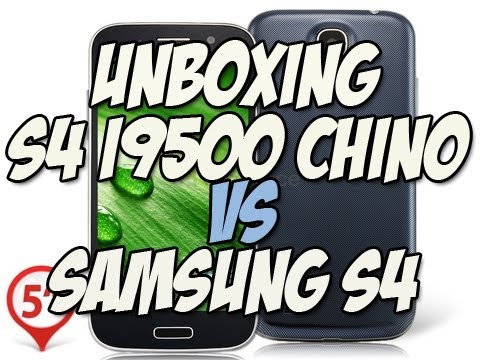 Review Telefono S4 I9500 CHINO | Samsung S4 original VS Samsung S4 Chino - Happy Tech