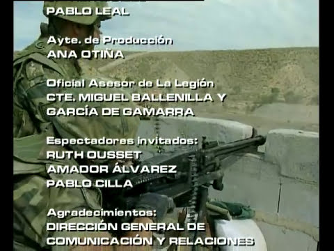 Operaciones Especiales. Episodio 4: Espíritu Legionario. (BRILEG) AXN
