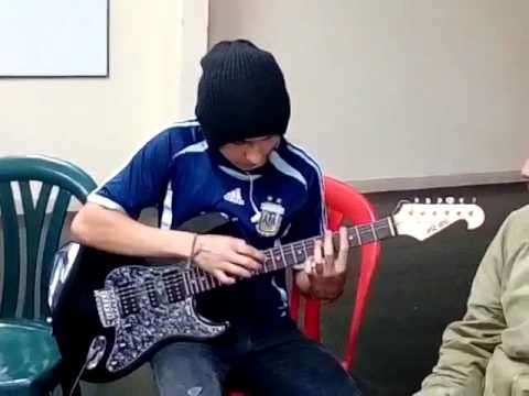 Andragonia - Guitar Flash Tapping Cover