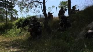 - milsim - Magfed - Tiberius T15 - gunfights - first offical RUFFED Paintball Video