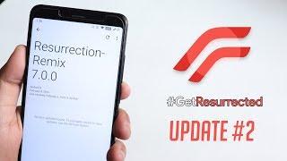ResurrectionRemix Pie February Update On Redmi Note 5 Pro