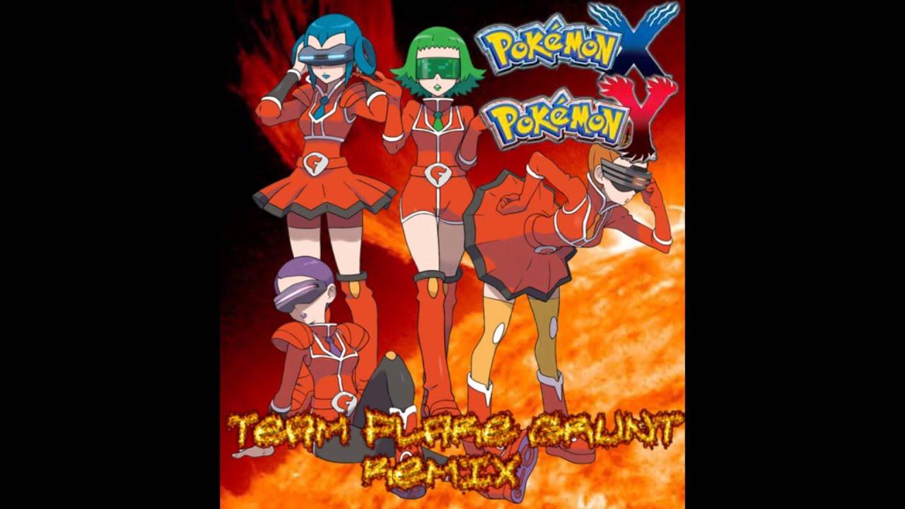 Flare Grunt Pokemon X/y Team Flare Grunt