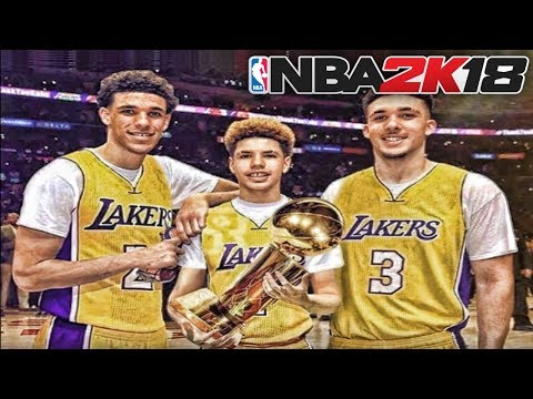 BALL BROTHERS NBA 2K18 MYCAREER - LONZO BALL, LAMELO BALL, LIANGELO BALL, THE JOURNEY BEGINS