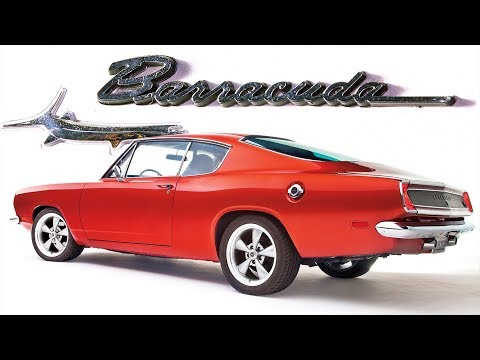 ИСТОРИЯ Плимут БАРРАКУДА (Plymouth Barracuda) 1964 - 1969 (Часть #1)
