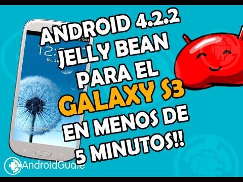 Android 4.2.2 para el Galaxy S3 GT-I9300 en menos de 5minutos!!