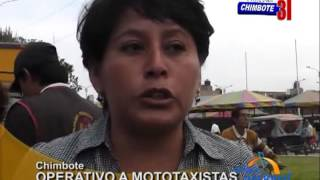 Municipalidad Del Santa Controla A Mototaxitas Informales
