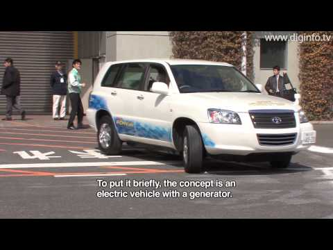 Toyota FCHV-adv Fuel-Cell Vehicle : DigInfo
