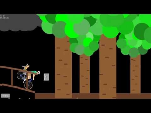 SLENDER MAN WOODS 2! - Happy Wheels