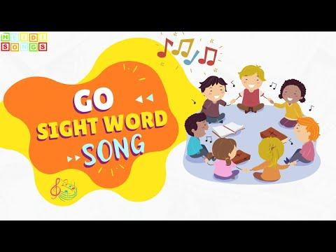 Preschool Sight Words - Go song