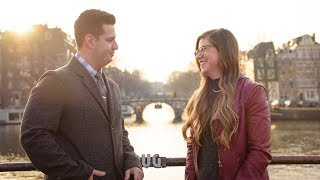 HE PROPOSED!   Amsterdam Travel Vlog