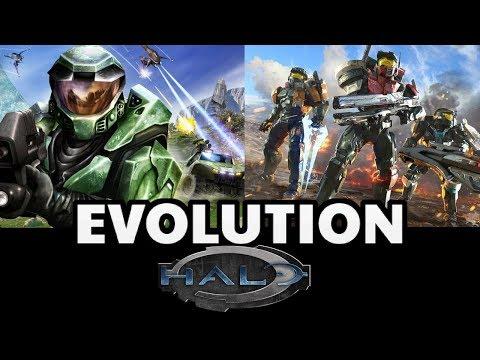 Evolution of Halo Games 2001-2017