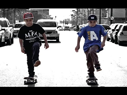 The Twins Skateboarding - Frederico & Henrico Silva - 9 year old