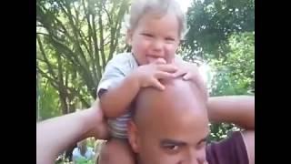 Tổng hợp những khoảnh khắc hài hước nhất của bố và bé