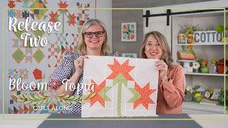 Bloom-Topia 2020 Charity Quilt Along - Release 2 | Fat Quarter Shop