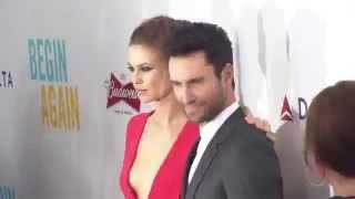 Begin Again: New York Red Carpet Movie Premiere Arrivals - Adam Levine, Keira Knightley
