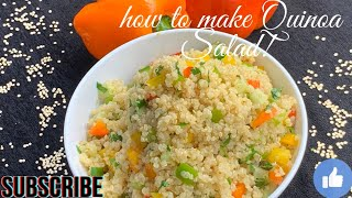 How to make QUINOA SALAD for weight loss!! क्विनोआ सलाद