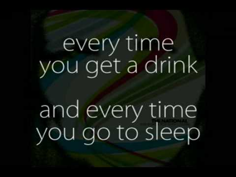 The National - Lucky You (Lyrics)