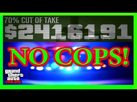 GTA 5 New Pacific Standard Heist Glitch With No Cop! (Host is Not Patched)