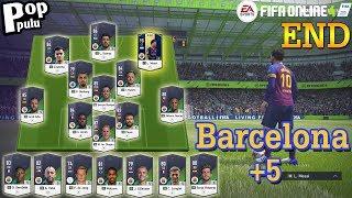 FIFA Online 4 ดองการ์ดทำทีมแบบไม่เติม [Barcelona+5] END l 270m+