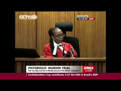 Oscar Pistorius Trial: Day 2  Pistorius on the Hot Seat