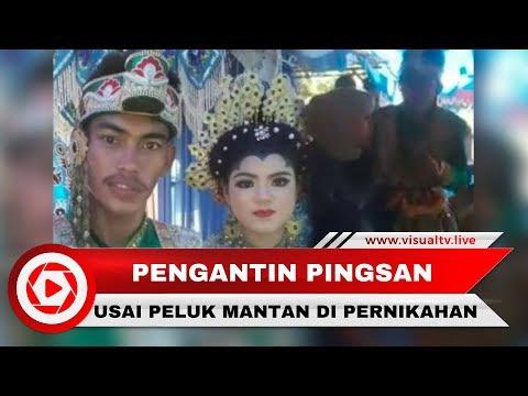 Viral! Pengantin Pria Pingsan Usai Peluk Mantan yang Menyanyi di Pernikahan