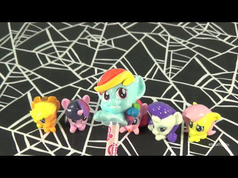 My Little Pony Mystery Blind Bags Pencil Toppers! Opening by Bin's Toy Bin