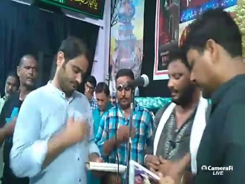 Azadari Channel's broadcast 5th Muharram 1439 hijri | Gopalpur, Bihar, India