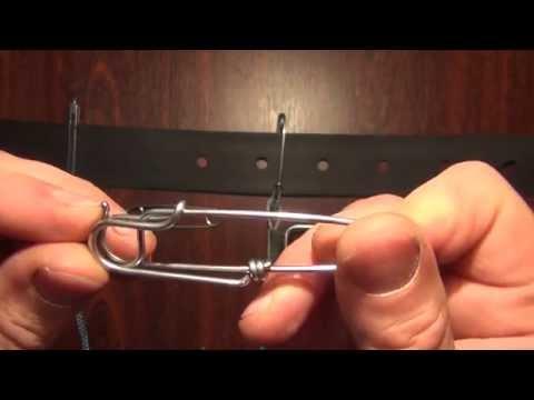 Как сделать карабин для линя