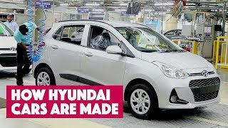 How Hyundai Cars are made: Hyundai's Chennai Plant
