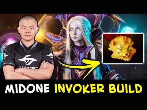 Midone cosplaying Sumiya — unexpected Invoker BUILD