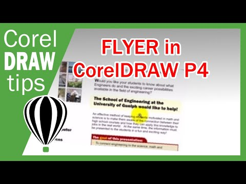 Part 4 Flyer Tutorial in CorelDraw X3