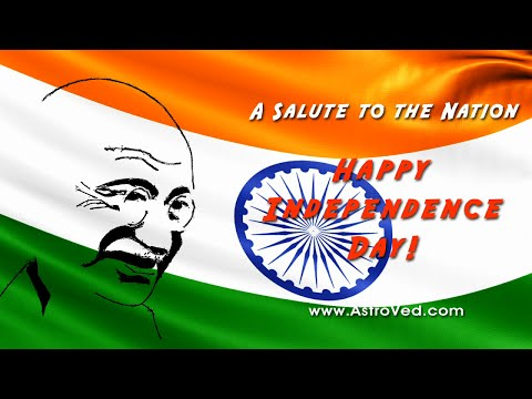 AstroVed Celebrates India's 68th Independence Day