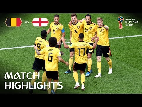 "Belgium v England - 2018 FIFA World Cup Russiaâ""¢ - Play-off for third place 