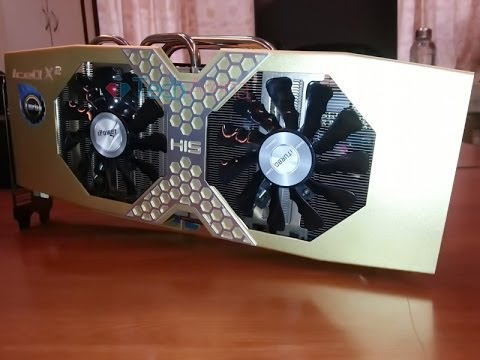 HIS Radeon R9 280X iPower IceQ X2 Turbo Boost Unboxing Video