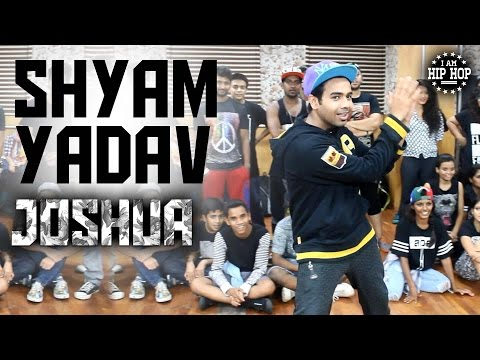 Shyam Yadav Exclusive - DID 4 Winner @ I AM HIP-HOP CREW Workshop