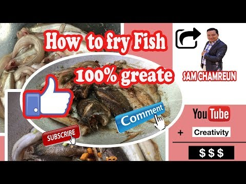 Cooking time: How to fry Fish| Learn how to cook in the weekend