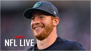 Carson Wentz can challenge Patrick Mahomes for MVP – John Fox | NFL Live