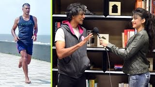Milind Soman's Tips on Barefoot Running, Nutrition and Supplements