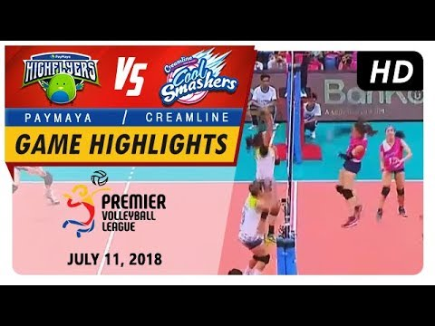 PVL RC Season 2 - WD: High Flyers vs. Cool Smashers | Game Highlights | July 11, 2018