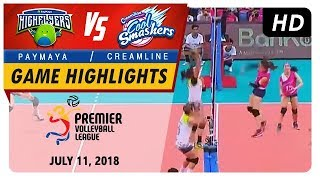 PVL RC Season 2 - WD: High Flyers vs. Cool Smashers | Game Highlights | July 11, 2018