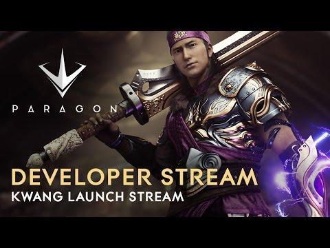 Paragon Developer Live Stream - Kwang Launch