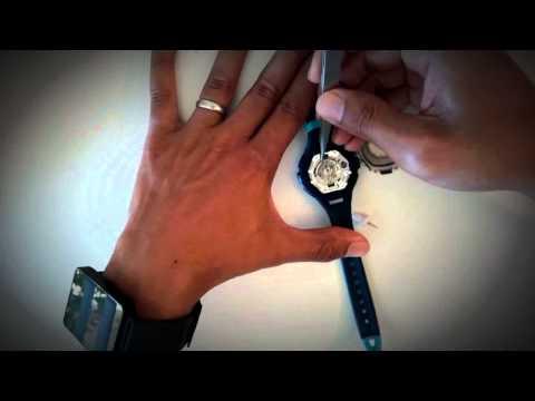 Timex Triathlon Ironman Watch Battery Change