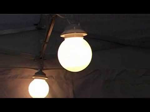 Marquee Globe Lighting Set