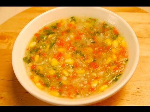 SWEETCORN VEGETABLE SOUP