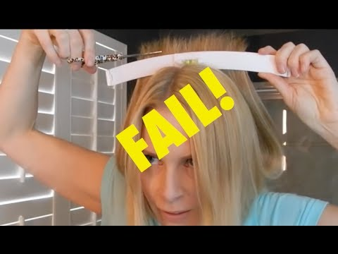 WTF? I Cut My Own Hair FAIL   Foreign Beauty Tools   skip2mylou