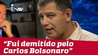 """""""Fui demitido pelo Carlos Bolsonaro"""", diz Bebianno"""