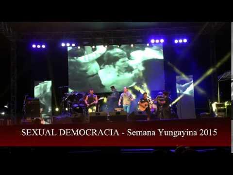 YUNGAYINO.CL - Sexual Democracia en Semana Yungayina 2015