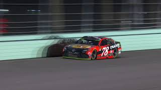 Truex Jr., Kyle Busch battle it out for title at Miami
